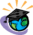 Graduate world clipart